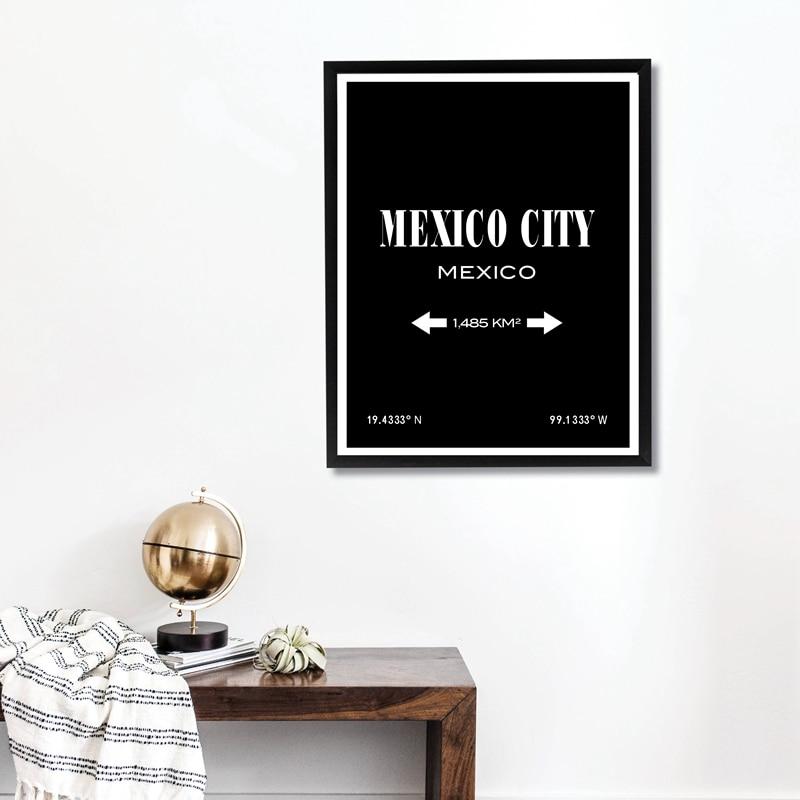 Mexico City Canvas Print