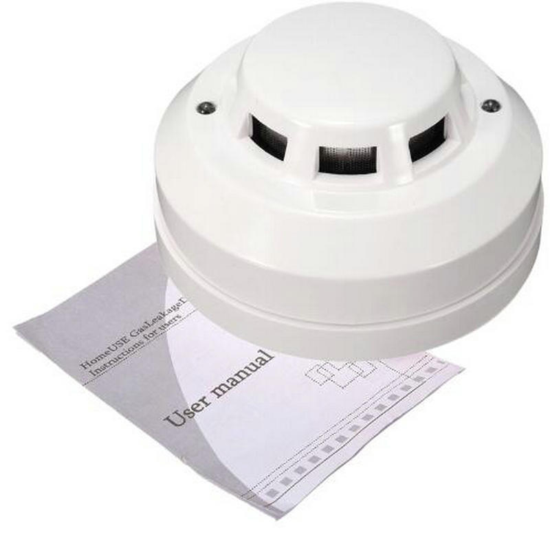 Free Shipping Wired Networking Sensor Smoke Detector For Sale/Optical Host components Smoke Detector Alarm For gsm alarm system все цены