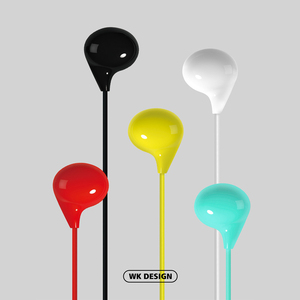 Image 5 - Original Remax WK 200 Earphone Wired Headset Noise Cancelling Fashion In Ear Earphone For iPhone Xiaomi Mobile phone PS4