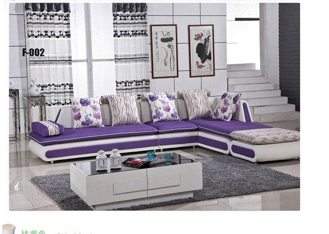 Coloré canapé en tissu canapé pour meubles de salon dans Canapés ...