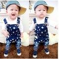 Children Overalls Infant Boys Bib Pants Spring Autumn Kids Jeans Denim Trousers Baby Boy Suspender Trousers for 0-5 ages CFP306