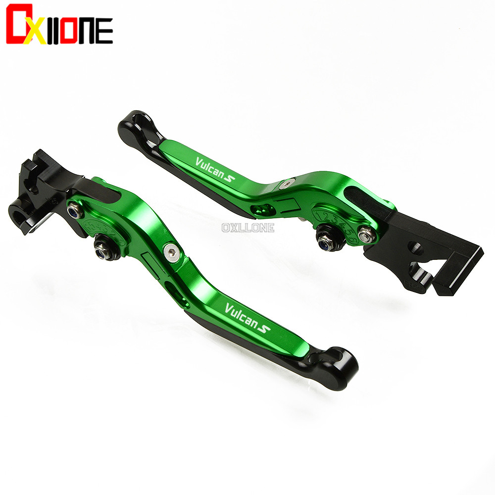 Motorcycle Accessories Adjustable New CNC Brake Clutch Levers Set For kawasaki VERSYS 1000 VULCAN S 650cc 2015 2016 2017 2018 in Levers Ropes Cables from Automobiles Motorcycles