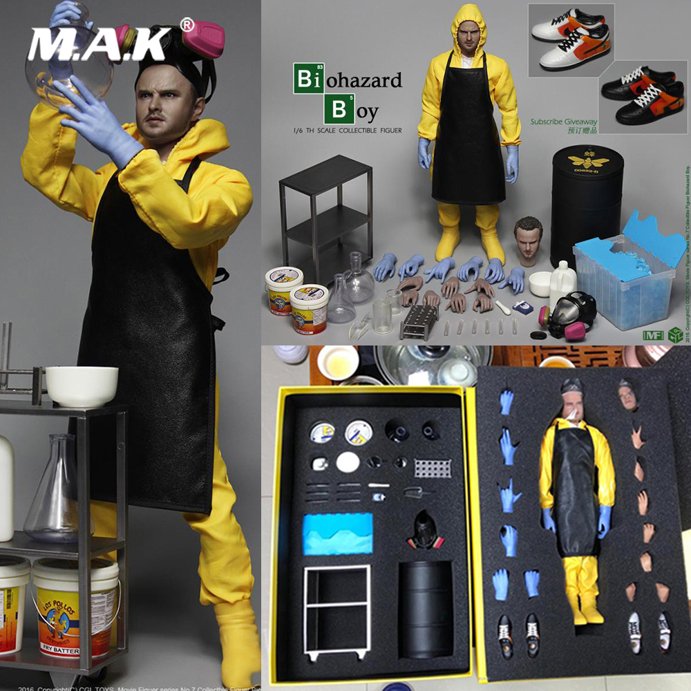 1/6 Collectible Full Set Breaking Bad Small powder Jessie Pinkman figure doll Chemical laboratory Luxury vision for Fans Gift1/6 Collectible Full Set Breaking Bad Small powder Jessie Pinkman figure doll Chemical laboratory Luxury vision for Fans Gift