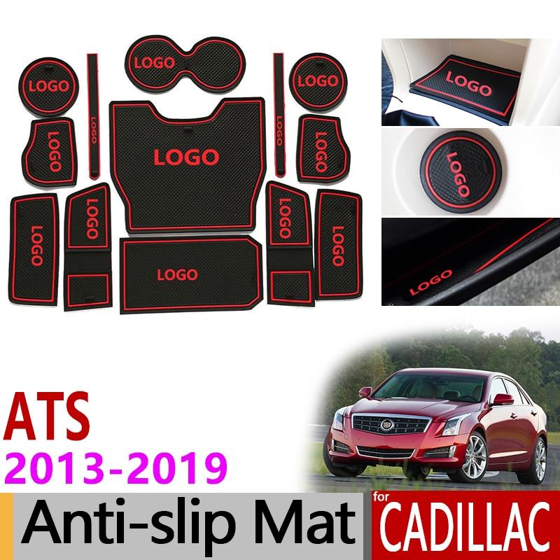 Anti Slip Gate Slot Mat Rubber Coaster For Cadillac ATS