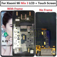 Xiaomi mi mi × 3 Lcd ディスプレイタッチスクリーンデジタイザアセンブリとフレーム mi mi x3 液晶交換部品 xiaomi mi × 3 lcd