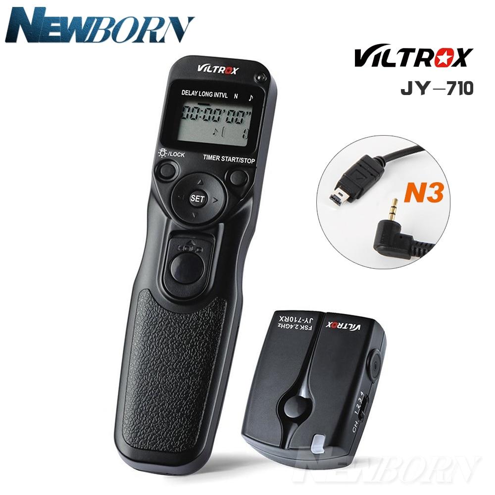 Timer control remoto inalámbrico para Nikon D7500 D7200 D7100 D7000 D5600 D5500 D5300 D5200 D5100 D3300 D3200 D3100 D750 D610 D600 DF MC-DC2