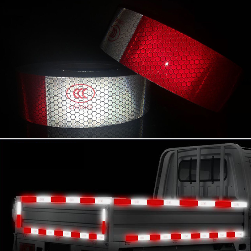 5cmx10m Car Reflective Material Tape Sticker Automobile Motorcycles Safety Warning Tape Reflective Film Car Stickers