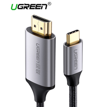 Ugreen USB C HDMI Cable Type C to HDMI Thunderbolt 3 for MacBook Samsung Galaxy S9/S8 Huawei Mate 10 Pro P20 USB-C HDMI Adapter
