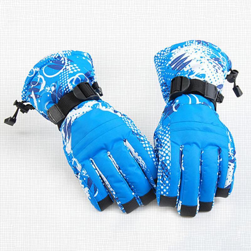 Prix pour Étanche Ski Gants Hommes Femmes Hiver Chaud Gants Coupe-Vent Moto Snowboard Ski Mitaine Sport Accessoire