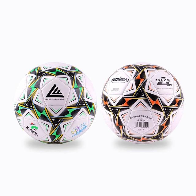 32580a7c66 2 Bolas de Duas Cores PVC Bolas De Futebol Tamanho 4 Primário E Alunos Do  Ensino