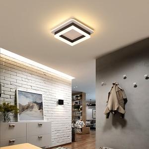 Image 4 - سقف ليد حديث أضواء ل المدخل شرفة شرفة غرفة نوم غرفة المعيشة سطح شنت مربع/مصابيح Led مستديرة مصباح السقف