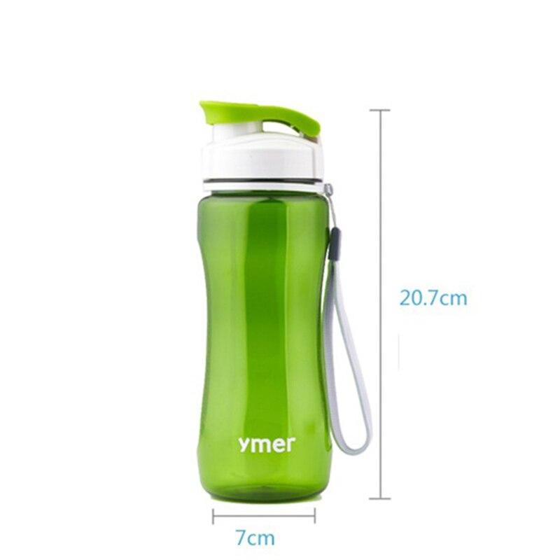 560 мл здоровый портативный спорт бутылки воды простые пространство пластиковый стаканчик туризм runing бутылка для воды