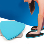 2pcs Gliding Discs Strength and Stability Sliders for Home and Gym Fitness Training