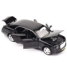 ФОТО 1:32 6 doors can be opened's gl500 simulation car model boys pull back matte diecast metal vehicles acousto-optic alloy car toys