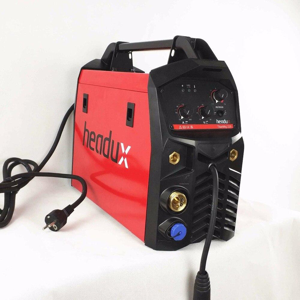 МиГ сварочный аппарат 225A 3in1 Многофункциональный сварочное оборудование MMA/Stick МИГ/MAG песочные часы пистолет 15AK факел инверторов IGBT машина