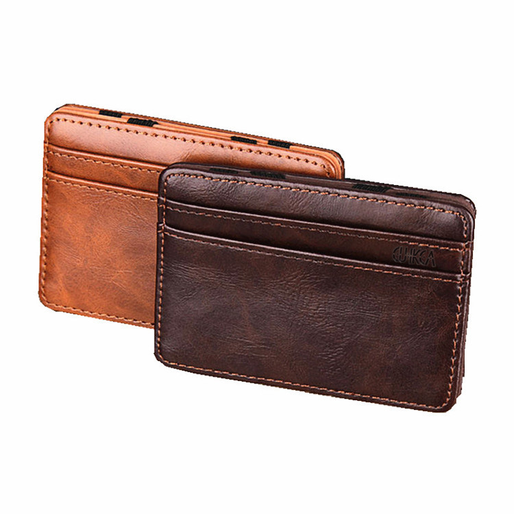 New Fashion PU Leather Credit Card&ID Card Holder Mini Wallets Bank Card Bag Case Casual Money Bag Unisex Men&Women Coin Purse