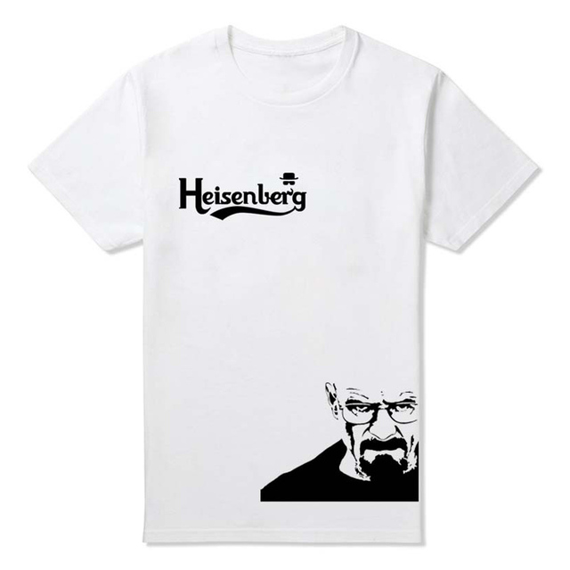 3fb8528ddcf Stylish Cool Heisenberg T Shirt Summer Style Breaking Bad t-shirts for Men  Custom Design Logo Black Tee shirts