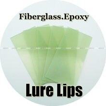 Tamanho selecionado/isca epóxi de fibra de vidro, 5 peças, crankbaits, fazer isca (0.6mm 0.8mm 1mm 1.6mm)
