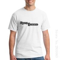 Mens T Shirts Slim Fit Printed Clothing Royal Enfield T Shirt Custom Made Shorts T Shirt
