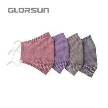 GLORSUN моющаяся Высококачественная напечатанная на заказ n95 маска для дыхания смога воздуха против запаха пыли Мода n99 Половина маска для лица