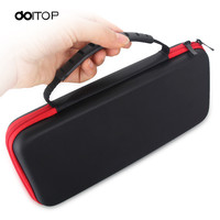 DOITOP Anti Shock Carry Bag For Nintend Switch Gamepads Packing Travel Zip Case Dustproof Storage Box