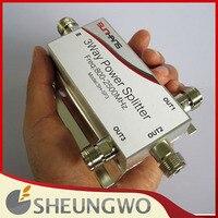 3 Way 800 2500MHz Power Splitter N Female Connector RF Power Divider Splitter For Cell Phone