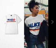 PALACE GB LONDON T-Shirt Skateboard High Street Herren T-shirt brief Druck Mans Sommer Kurzarm Marke T Shirts Tops Tees