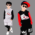 Boys sports apparel Clothing Sets For Boys Sports Suit Cotton Casual Tracksuits Children Hip hop suit 2 4 6 8 10 12 14 Years