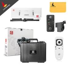 Бесплатная доставка DHL! Новейшая версия Zhiyun кран V2 3 оси Бесщеточный Ручной видео Камера стабилизатор Gimbal Комплект Для беззеркальных DSLR Камера