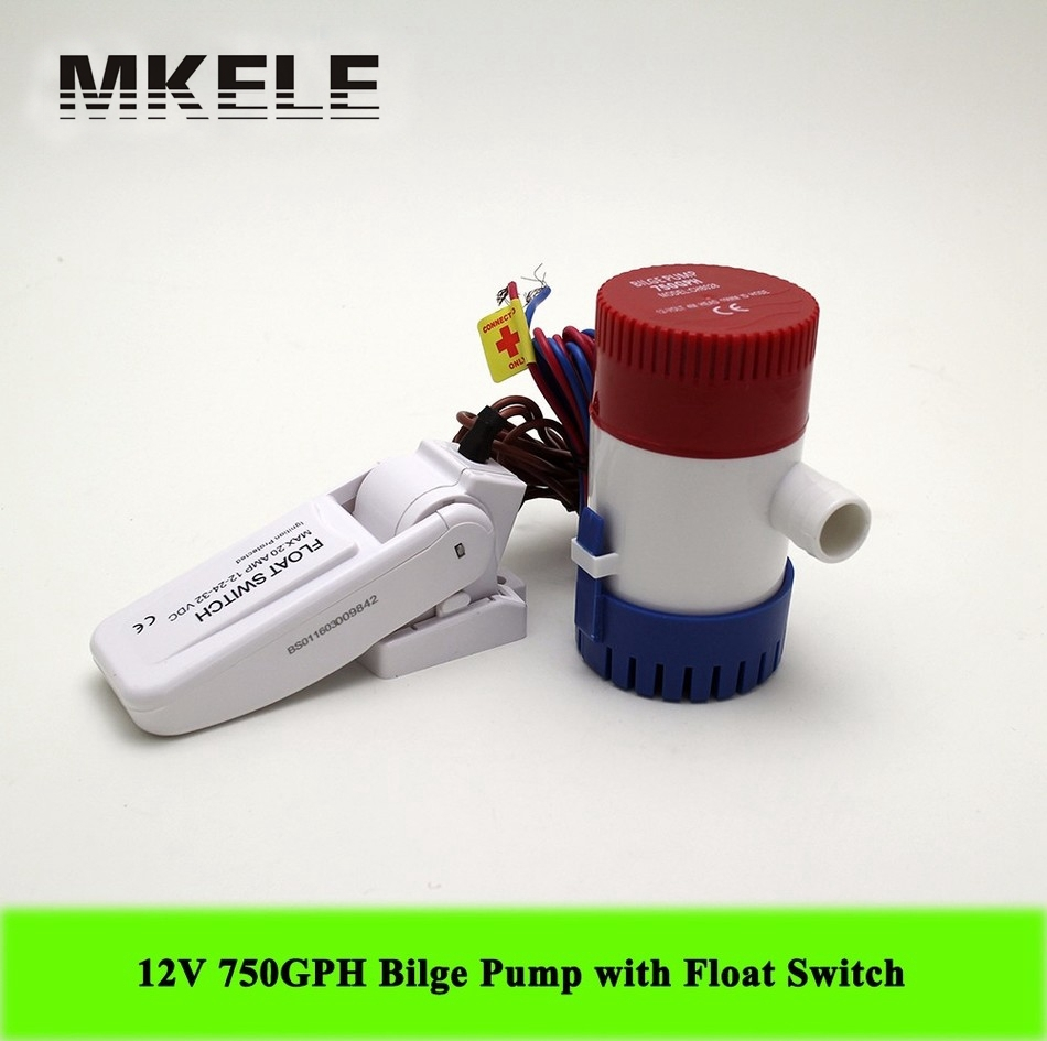 Hot Sale MKBP G750 12 12V 750GPH Submersible Mini Electric