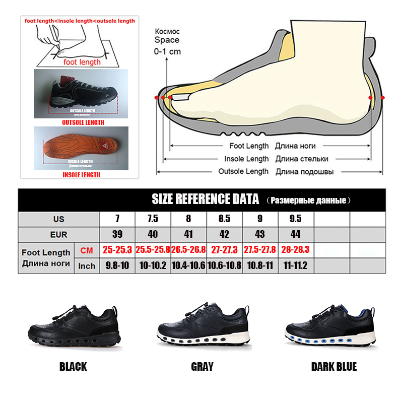 Image 5 - Winter Classic Luxury Genuine Leather Fashion Men Shoes Brand Casual Men's Shoes Lace up Outdoor Non slip Work Safety Trainers-in Men's Casual Shoes from Shoes