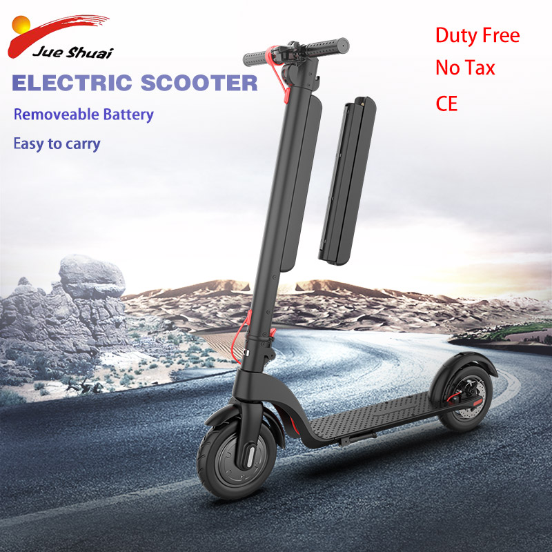 36V 350W Electric Scooter Removable Battery 8.5 inch Motor Wheel Adult kick e scooter No tax folding patinete electrico adulto
