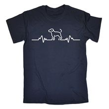 Men's Dog Heartbeat T-Shirt