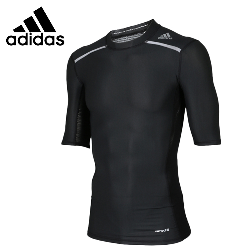 Original New Arrival  Adidas Men's Climachill T-shirts Training Sportswear original new arrival official adidas women s tight elastic training black pants sportswear