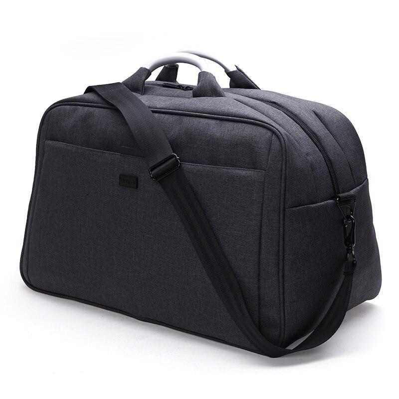 TINYAT Homens Grandes Viajar Saco Over-sized Nylon Saco da bagagem Do Duffle Viagem Bolsa de Ombro Das Mulheres Totes Saco Weekender 40L t305