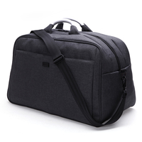 TINYAT Men Large Travelling Bag Over sized Nylon Duffle Handbag Trip Women Shoulder luggage Bag Totes Weekender Bag 40L T305