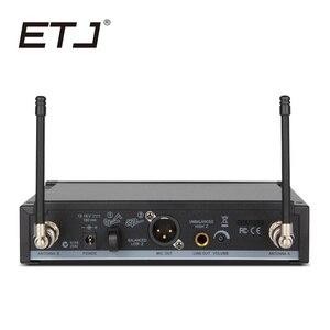 Image 2 - ETJ العلامة التجارية SLX24/BETA58 58A المهنية UHF اللاسلكية المزدوجة ميكروفون نظام يده ميكروفون سماعة الرأس