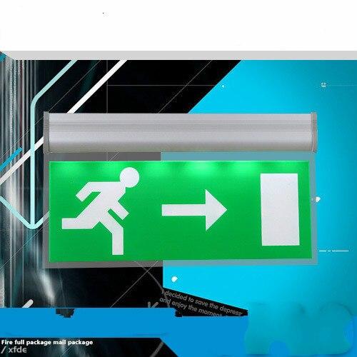 Personnaliser motif L'acheteur fournit texte Acrylique panneau d'arrêt, feu éclairage de secours, de sortie de sécurité, d'évacuation voyant
