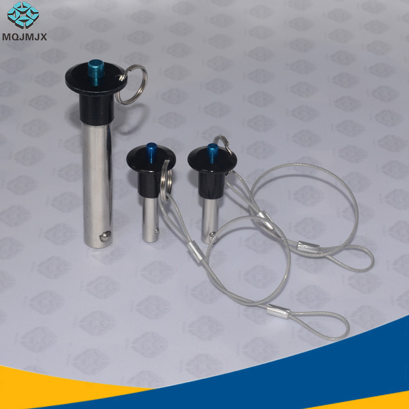 Ball lock pins Stainless steel Quick release pin Top-out Type diameter 5/6/8/10/12/16/20/25, length 10-100mmBall lock pins Stainless steel Quick release pin Top-out Type diameter 5/6/8/10/12/16/20/25, length 10-100mm