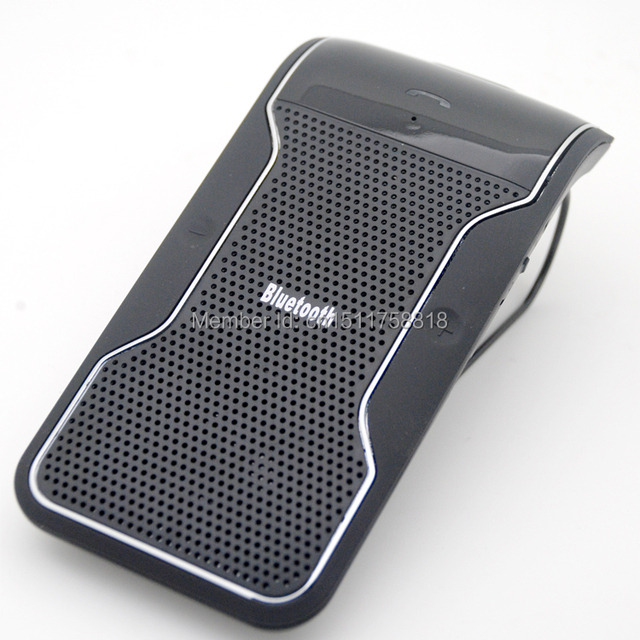 Free Shipping Wireless Bluetooth Car Kit Handsfree Speakerphone Hands Free Car Bluetooth Handsfree Kit + Car Charger