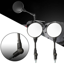 Universal Folding Motorcycle Mirror motorbike Rearview For honda CB1000R CB1300 CB600F Hornat CBF600 CBR125R CBF125
