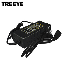 TREEYE DC Power Supply 48V 3A Adapter Charger for CCTV POE Camera