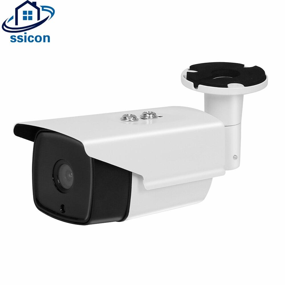SSICON 2MP Starlight IP Réseau Caméra Bullet Étanche 0.0001Lux Ultra faible Éclairage SONY IMX291 Capteur CMOS Caméra Extérieure