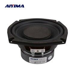 AIYIMA 5.25 Inch Subwoofer Audio Speaker Super Power Music Loudspeaker 4 8 Ohm 120W Bookshelf DIY Sound Speakers