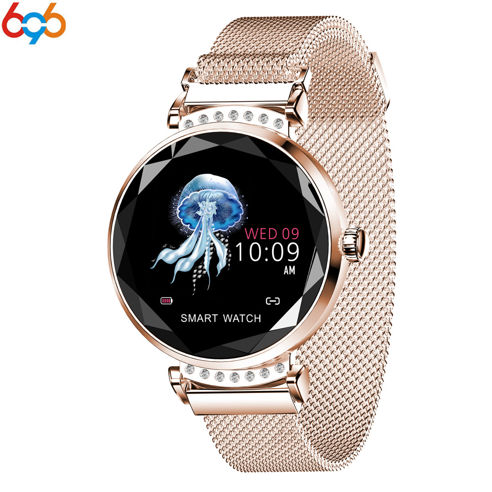 Newest Fashion T88 Smart Watch Women 3D Diamond Glass Heart Rate Blood Pressure Sleep Monitor Gift Smartwatch PK S3 bracelet