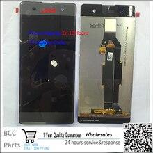 Высокое качество Для Sony Xperia XA F3111 F3113 F3115 ЖК-дисплей + Сенсорный экран Панели Планшета с кадра в наличии! Испытано в порядке!