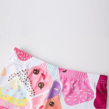 Pink White Cake Dessert Ice Cream Leggings Sexy Summer Leggings Women For Fitness Leggins Elastic Push Up Slim 2017 3D Printing 8