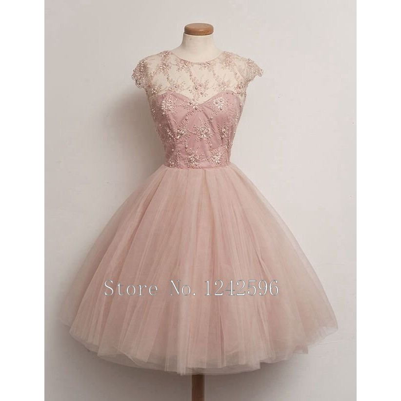 Buy vintage short tulle women gowns light for Tenue shabby chic