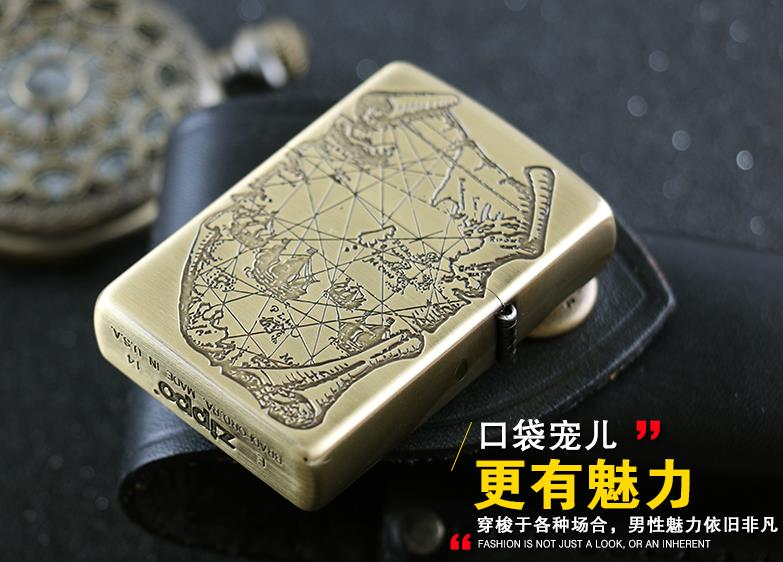 Free transportation 	Lighter gold pirates of the Caribbean - Household Merchandises - Photo 2