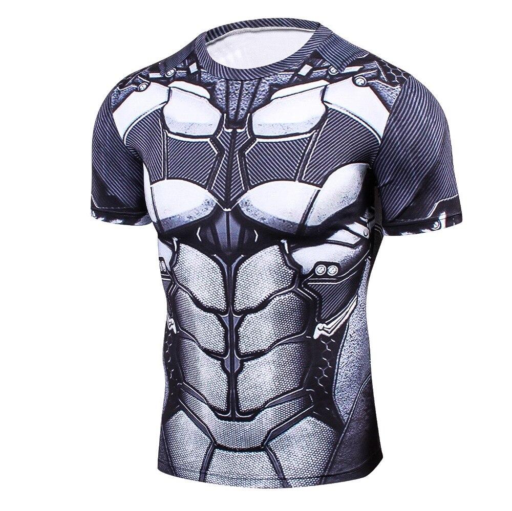 Neueste Marvel Superhero Batman 3D Gedruckt Kleidung Ironman T-Shirt Männer Frauen Cartoon 3D T-shirt Lustige T-shirts Kompression Shirt